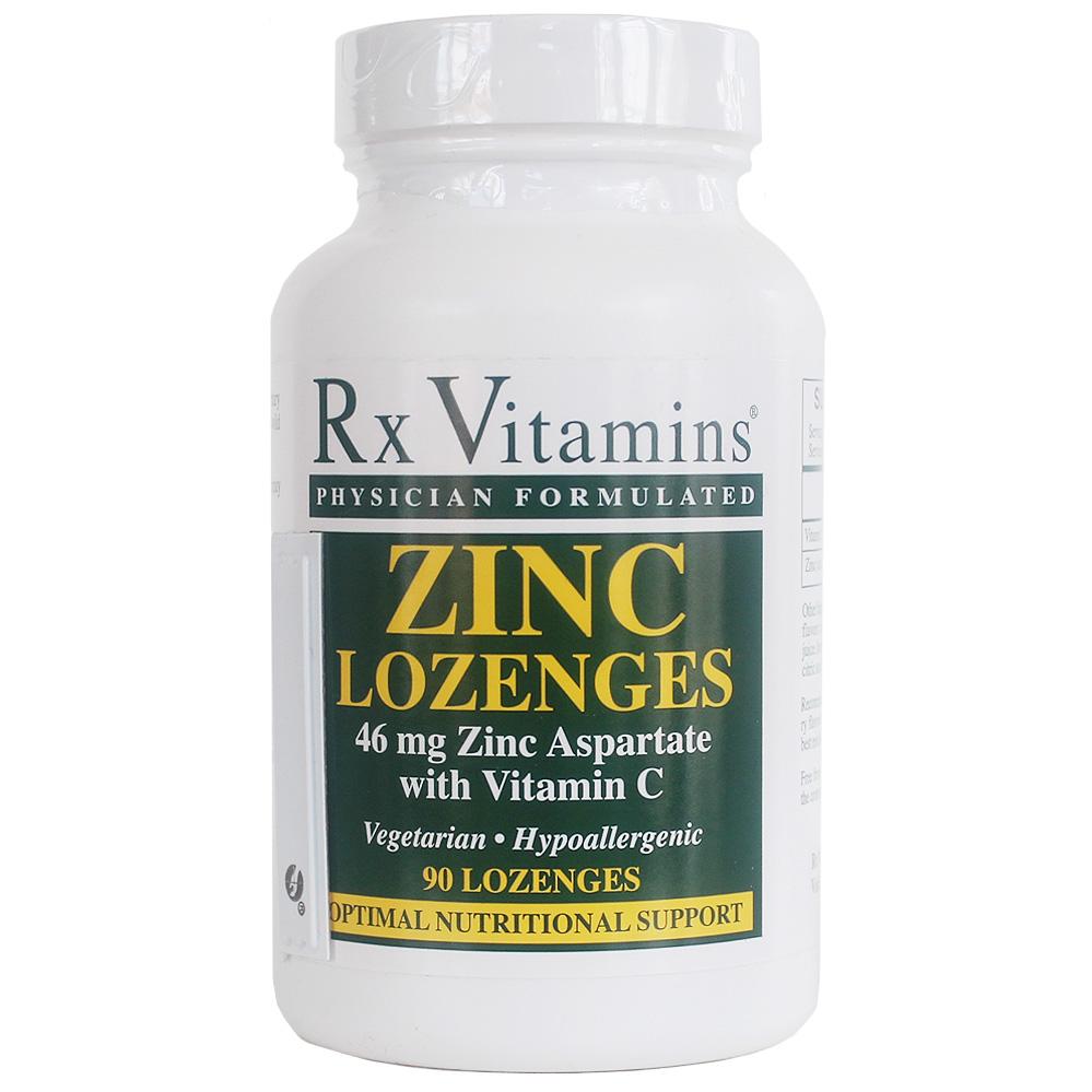 Rx Zinc Lozenges Myers Drug Medicine Nutrition