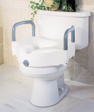 Elevated Toilet Seat by Medline 1