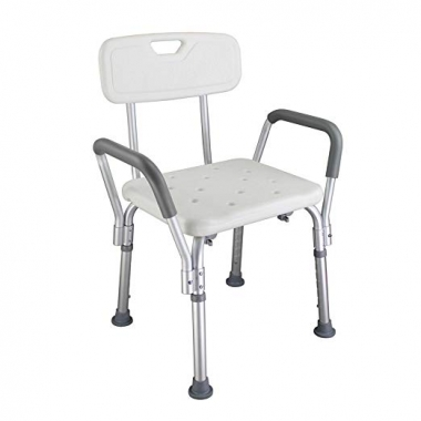 bathroom safety shower tub bench chair with back :: myers