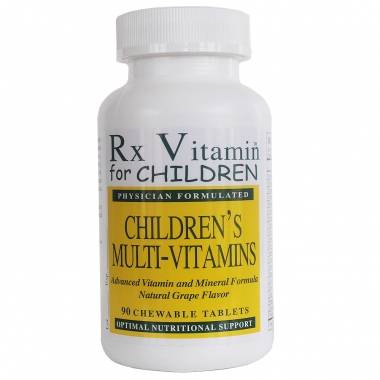 RX Children's Chewable Vitamins 1