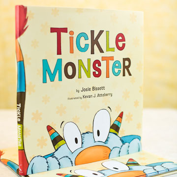 Tickle Monster Book 1