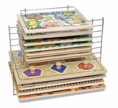 Deluxe Wire Puzzle Rack 1